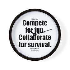 Collaborate Wall Clock