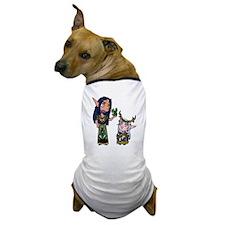 Blackbird and Ileyna Dog T-Shirt