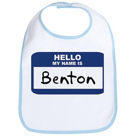 Hello: Benton Bib