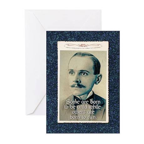 Gerald Theuregard-Not Sure Born cards (Pk of 10)