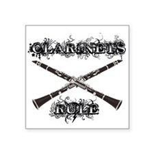 Clarinets Rule Sticker