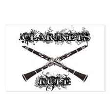 Clarinets Rule Postcards (Package of 8)