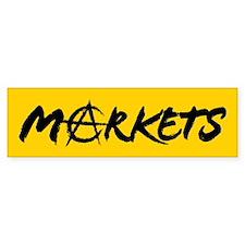 Markets Bumper Bumper Sticker