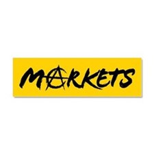 Markets Car Magnet 10 x 3