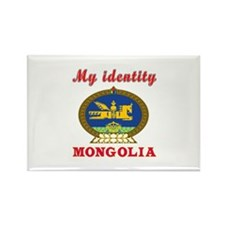 My Identity Mongolia Rectangle Magnet
