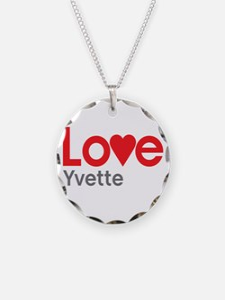 I Love Yvette Necklace