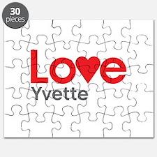 I Love Yvette Puzzle