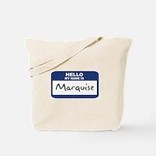 Hello: Marquise Tote Bag