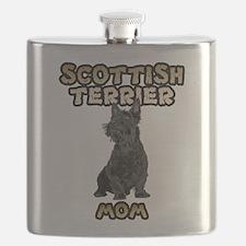 Scottish Terrier Mom Flask