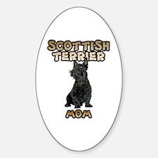 Scottish Terrier Mom Decal