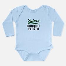 Future Croquet Player Long Sleeve Infant Bodysuit