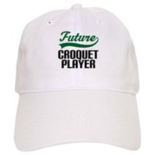 Future Croquet Player Baseball Cap