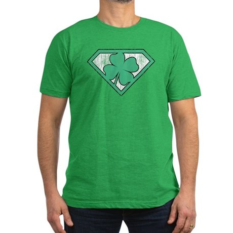 Vintage Super Lucky Men's Fitted T-Shirt (dark)