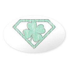 Vintage Super Lucky Decal