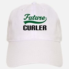 Future Curler Baseball Baseball Cap