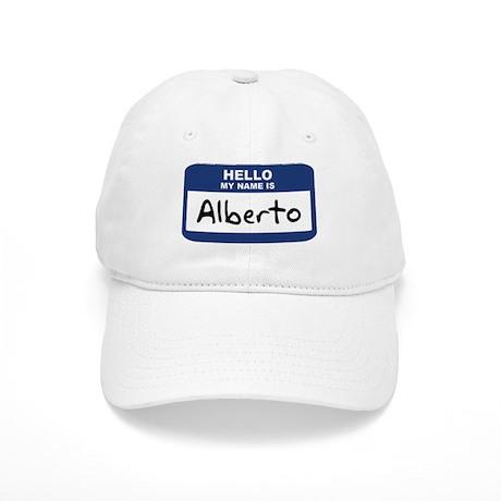 Hello: Alberto Cap