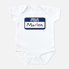 Hello: Marlon Infant Bodysuit
