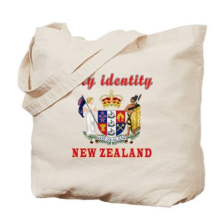 50th Wedding Anniversary Gift Ideas New Zealand : My Identity New Zealand Tote Bag by tshirts4valentine