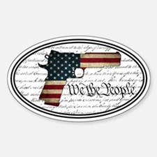 2A - Constitution - Sticker (Oval)