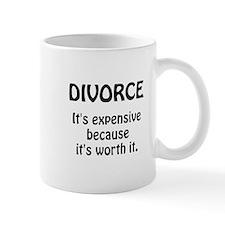 Divorce Worth It Small Mugs