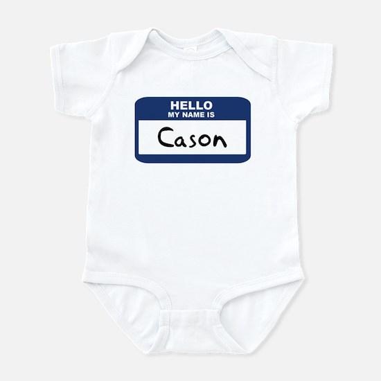 Hello: Cason Infant Bodysuit