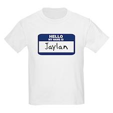 Hello: Jaylan Kids T-Shirt