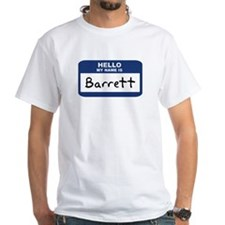 Hello: Barrett Shirt
