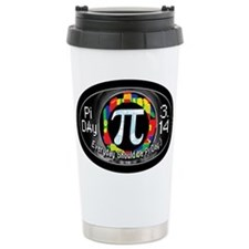 Pi Day Oval 1 Travel Coffee Mug