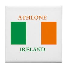 Athlone Ireland Tile Coaster