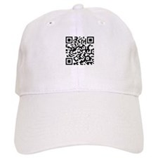 QR Code Baseball Baseball Cap