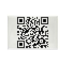 QR Code Rectangle Magnet (10 pack)
