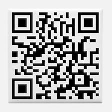 QR Code Tile Coaster