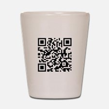 QR Code Shot Glass