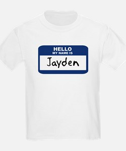 Hello: Jayden Kids T-Shirt