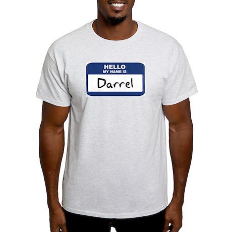 Hello: Darrel Ash Grey T-Shirt