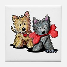 Cairn Duo Tile Coaster