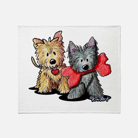 Cairn Duo Throw Blanket
