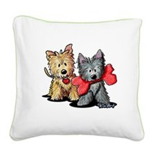 Cairn Duo Square Canvas Pillow