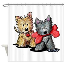 Cairn Duo Shower Curtain