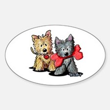 Cairn Duo Sticker (Oval)