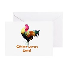 Chicken Lovers Greeting Cards (Pk of 20)