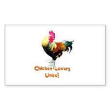 Chicken Lovers Decal