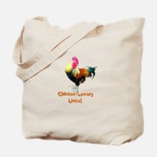 Chicken Lovers Tote Bag