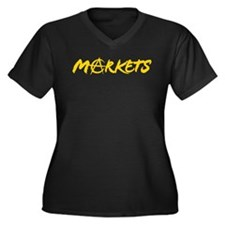 Markets Plus Size T-Shirt