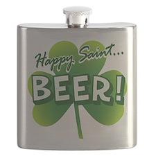 Happy Saint Beer Flask
