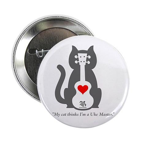"Cat Uke 2.25"" Button"
