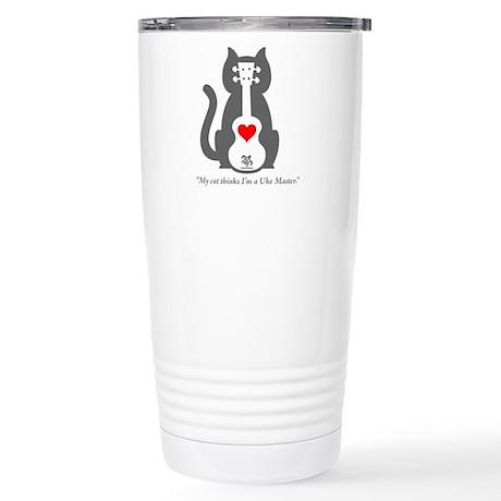 Cat Uke Travel Mug