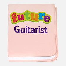 Future Guitarist baby blanket