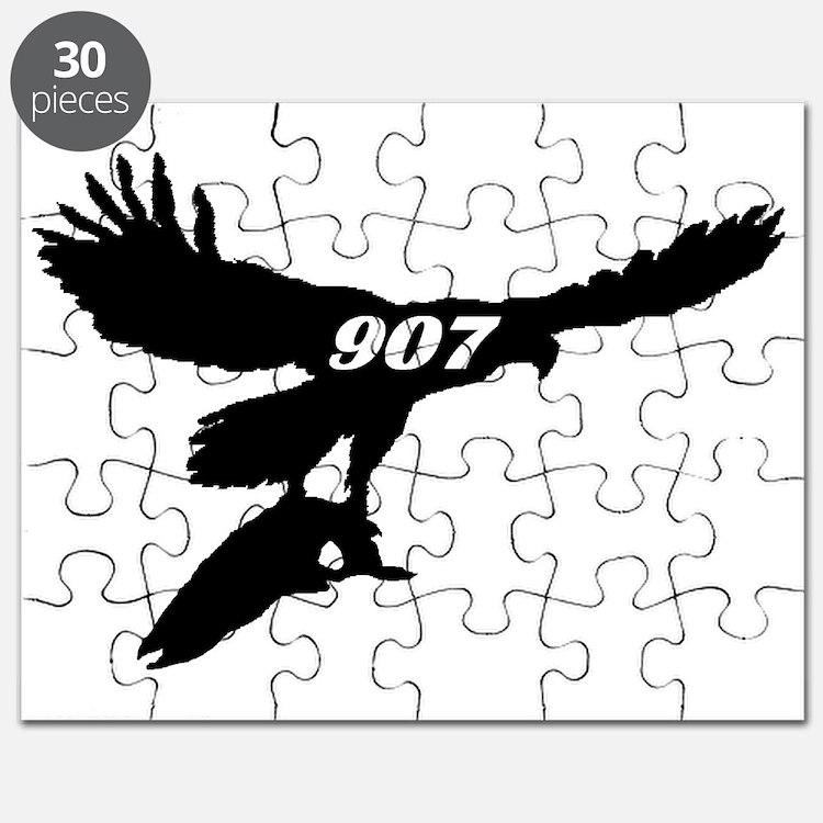 907 Fly Fishing Logo Puzzle