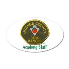 Orange County Ranger Academy Staff Wall Decal